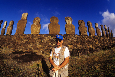 A long way from home, Easter Island