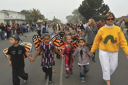 Butterfly parade, Pacific Grove