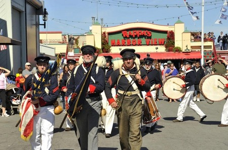 Founders Day parade, Monterey