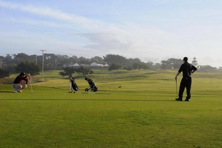 Golfers, Pacific Grove