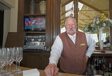 Billy Burns, 44 years a bartender in Pebble Beach